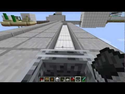 Minecraft-Self-Powered Mine-cart
