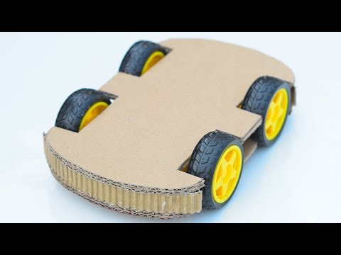 How To Make Powerful 4WD Rc Car very easy