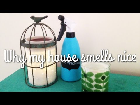 HOW TO MAKE YOUR HOUSE SMELL AMAZING - 10 TOP TIPS