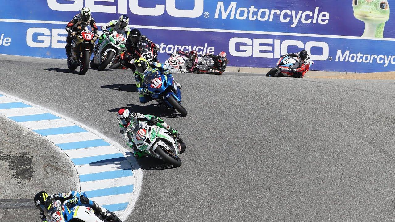 Superbike Race 2 at Honda Superbike Showdown of California 2016