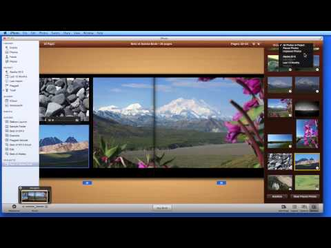iPhoto for Mac Lesson: How to build a photo book in iPhoto