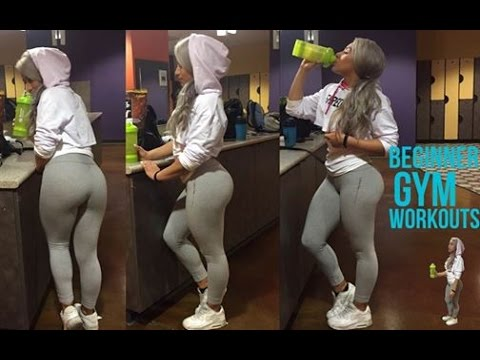 Beginner Gym Workouts #Abs #Booty #Legs