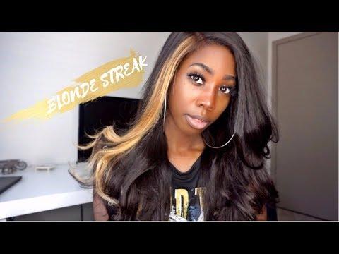 Dying Blonde Streak In My Hair ft. Laki Hair