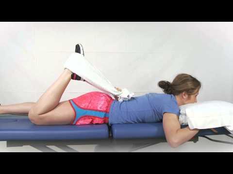 Prone Quad Stretch