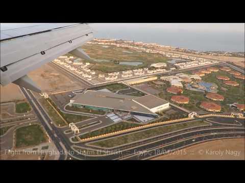 Flight from Hurghada to Sharm El Sheikh
