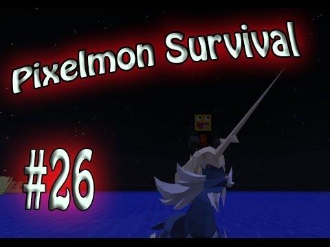 Lots of Exploration! Pixelmon Survival Season 2! #26