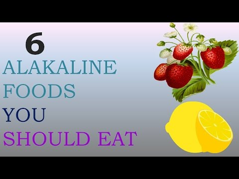 6 Alkaline Foods You Should Eat to Improve Your Health - Acid alkaline Balance in the Body