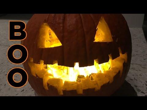 Halloween Special: Spooky Green Flaming Pumpkin