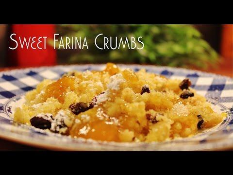 Sweet Farina Crumbs (Császármorzsa, Kaiserschmarrn)