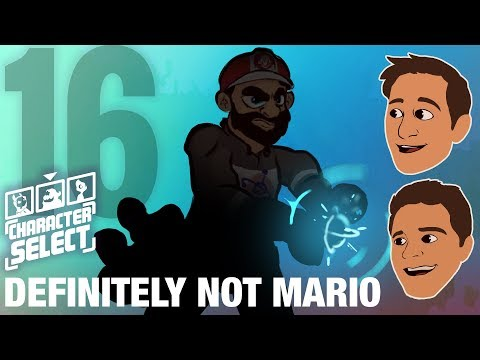 DEFINITELY Not Mario - Character Select #16
