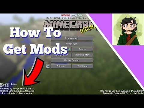 How To Install Mods On Minecraft PC Java Edition: Complete Step By Step Tutorial 1.12.1 Update