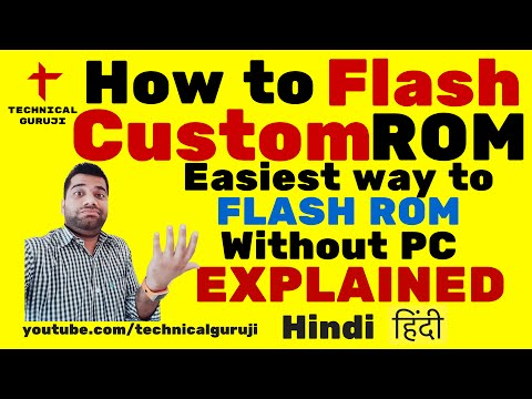 [Hindi/Urdu] How to Flash a Custom ROM without PC | Easiest way to Flash ROM Explained