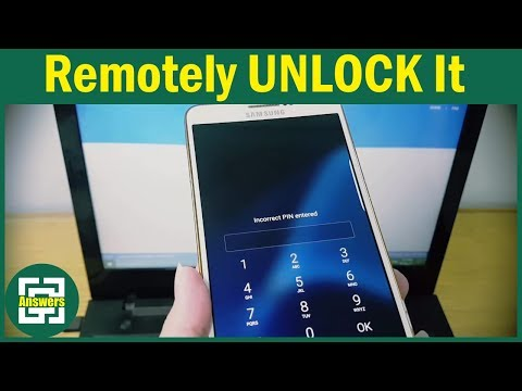 Remotely Unlock your SAMSUNG Mobile if you Forgot your PIN / Pattern / Password [No Root, Apps]