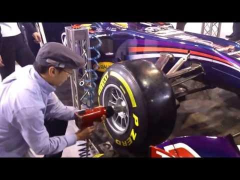 Essai changement pneu F1