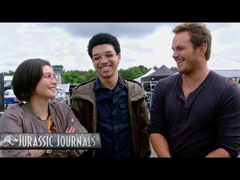 Chris Pratt's Jurassic Journals: Daniella Pineda and Justice Smith