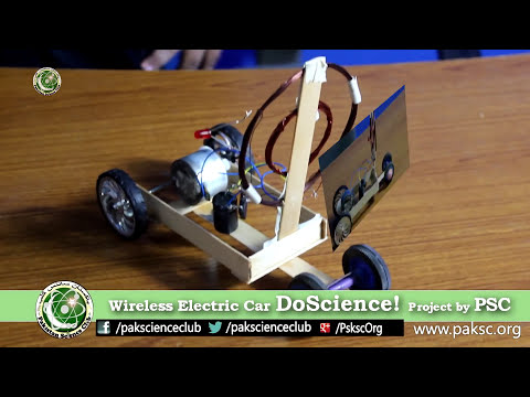 Wireless Electric Car, Experimental science project