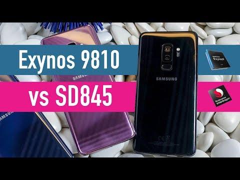 Galaxy S9 Plus Exynos vs Snapdragon battery comparison