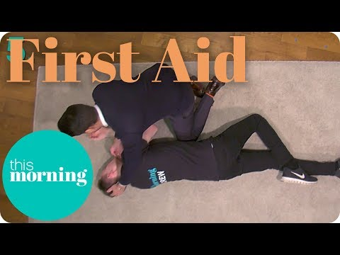 First Aid - How to Put an Adult or Baby Into the Recovery Position I This Morning
