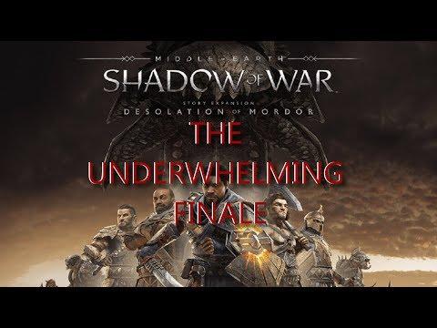 Shadow of War: Desolation of Mordor is An Underwhelming Finale