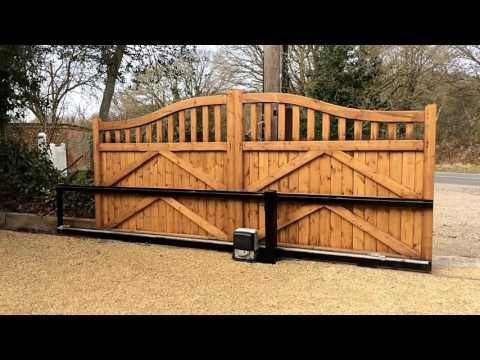 Bespoke driveway gates