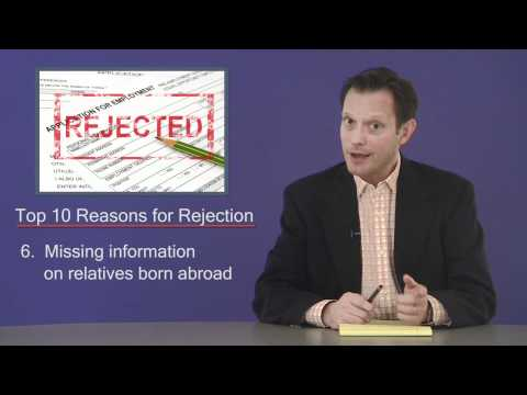 Top 10 Reasons Security Clearance Applications are Rejected
