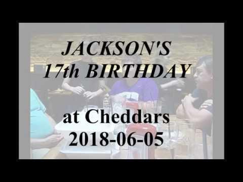 2018-06-05 Jackson's 17th Birthday dinner