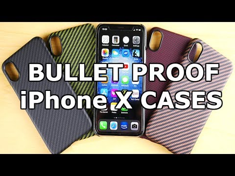 The BULLET PROOF iPhone X Cases