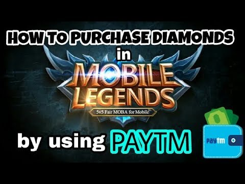 Mobile Legends : Bang Bang - How To Purchase Diamonds | Using Paytm | SUO