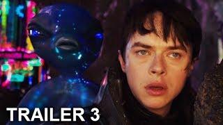 Trailer Final #3  Español Latino Valerian y la Ciudad de los Mil Planetas 2017