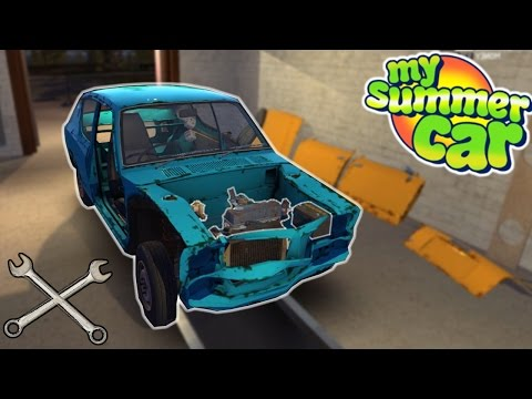 Building the Engine! - My Summer Car #4 - Engine Assembly