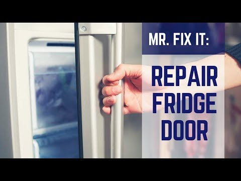 HOW TO | Repair Refrigerator Door Seal