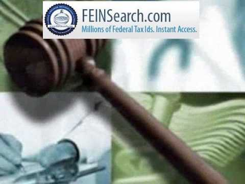 FeinSearch.com - Verify Tax ID, EIN, Business Ownership, Business Bankruptcy, Federal Tax Liens