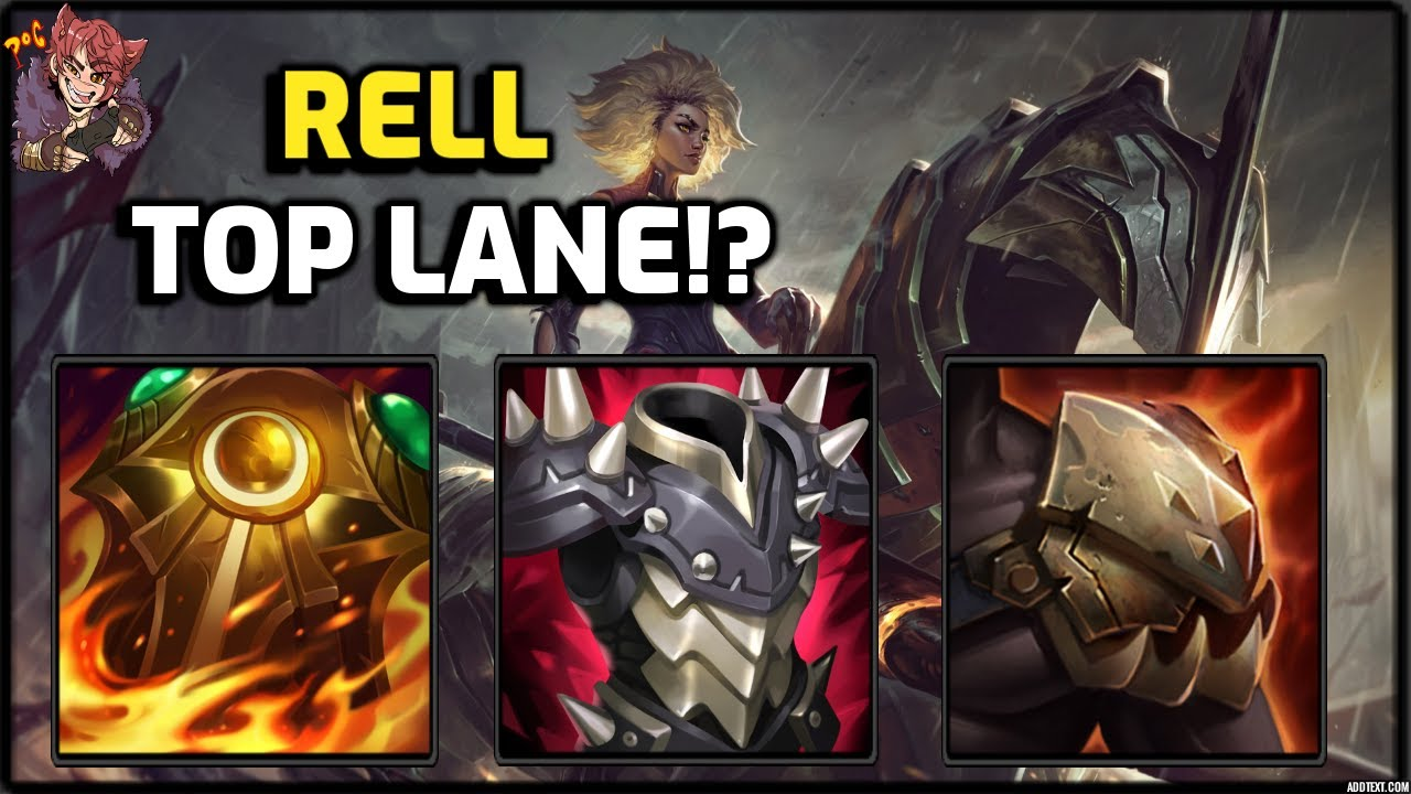 NEW RELL TOP LANE BUILD ANNIHILATES BRUISERS!?!? Rell Top Lane Season 11 Gameplay! League of Legends