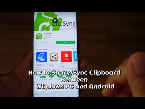 How to Share/Sync Clipboard Between Windows PC and Android
