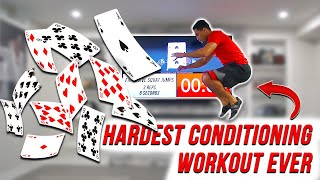 WORLDS HARDEST CONDITIONING WORKOUT | Virtual Deck Of Cards Training