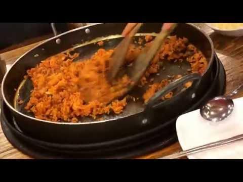 Fried rice in Yoogane seoul myeongdong