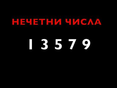 Maths language in Bulgarian