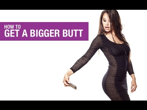 How To Get a Bigger Butt (EXERCISES TO LIFT AND TONE!!)