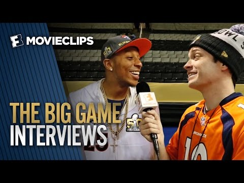 MOVIECLIPS  The Big Game - NFL Players Talk Movies 2016 HD
