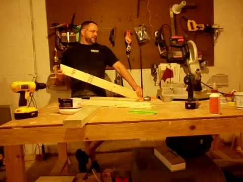 How to build an Adirondack chair part 1.