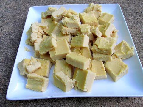 How to Make Soy-free Tofu! Vegan Recipe