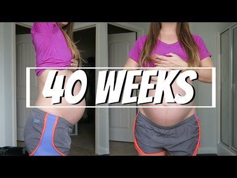 40 Weeks Pregnant! My last week of Pregnancy!