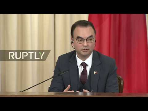 Live: Lavrov meets with Philippines counterpart Alan Peter Cayetano – press conference