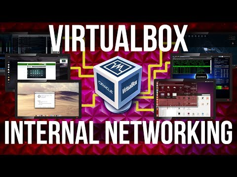 Virtualbox vm networking - internal network