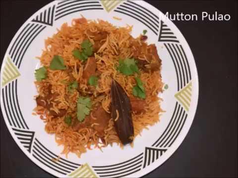 Mutton Pulao | Mutton Tahari | Rice Recipe | Indian Recipes