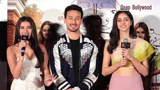 Student Of The Year 2 OFFICIAL Trailer Launch FULL HD | Tiger Shroff, Ananya Pandey, Tara Sutaria