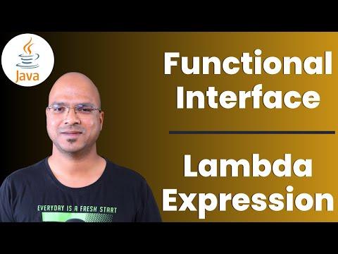 #7.5 Java Tutorial | Functional Interface | Lambda Expression