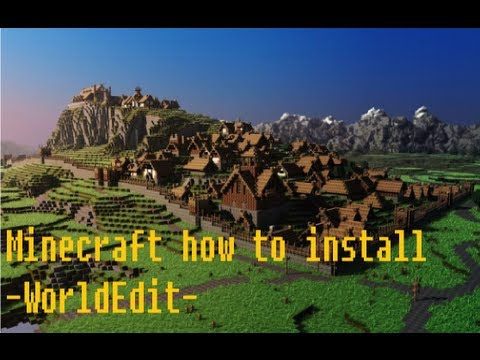 How to install -WorldEdit- for minecraft 1.5.1
