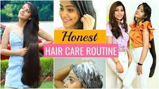 HONEST Hair Care Routine for LONG & SHINY Hair | #Hacks #Fun #Anaysa