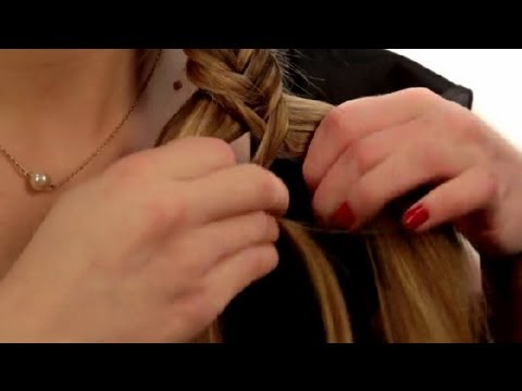 How to Do a Fishtail Side Braid : Long Hair Styling